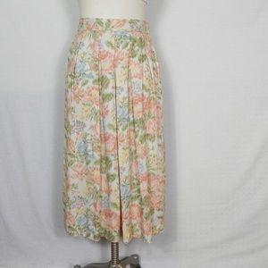 Vintage | New Old Stock Flower Summer Maxi Skirt
